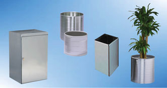 Waste Containers, Plant Containers, Round Containers, Round Wheeled Tanks, Storage Boxes and Lockable Boxes