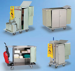 Housekeeping Carts, Linen Carts and all other Cabinet-Type Units