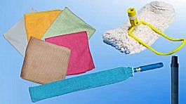 Microfiber and Standard Dusting Accessories