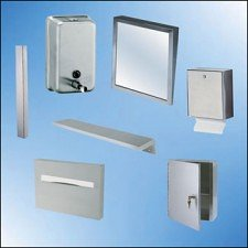 Stainless steel fixtures
